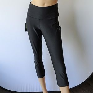 Nike Power High Rise Black Crop Leggings NWT